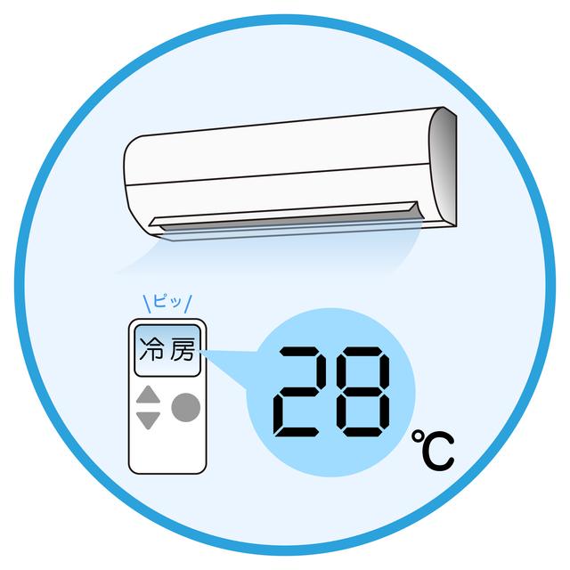 エアコンの節電